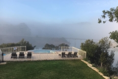 Morning mist in the Algarve
