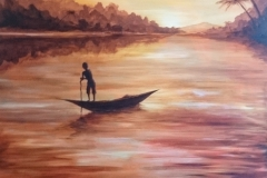 Boy-Boat-Painting