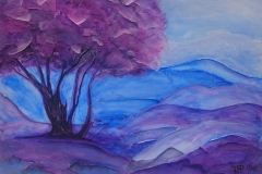 blue-landscape-tree-painting