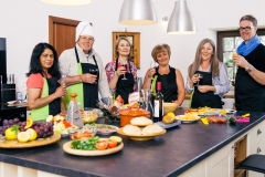Cookery workshops in the farmhouse kitchen