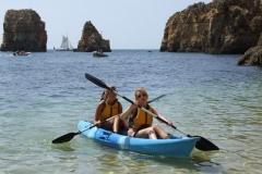 Canoe cave trips on the coast