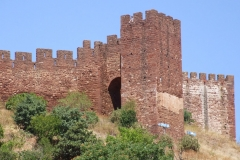 Historical town nearby with  Moorish  castle
