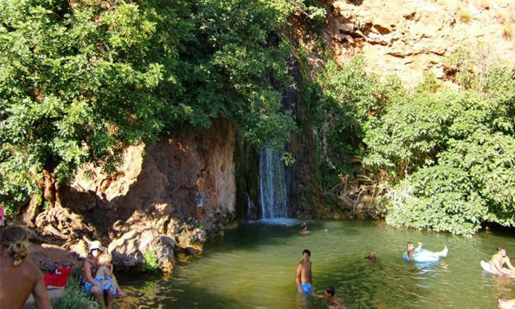 Wild swimming in the Algarve | Waterfall | Algarve, Portugal