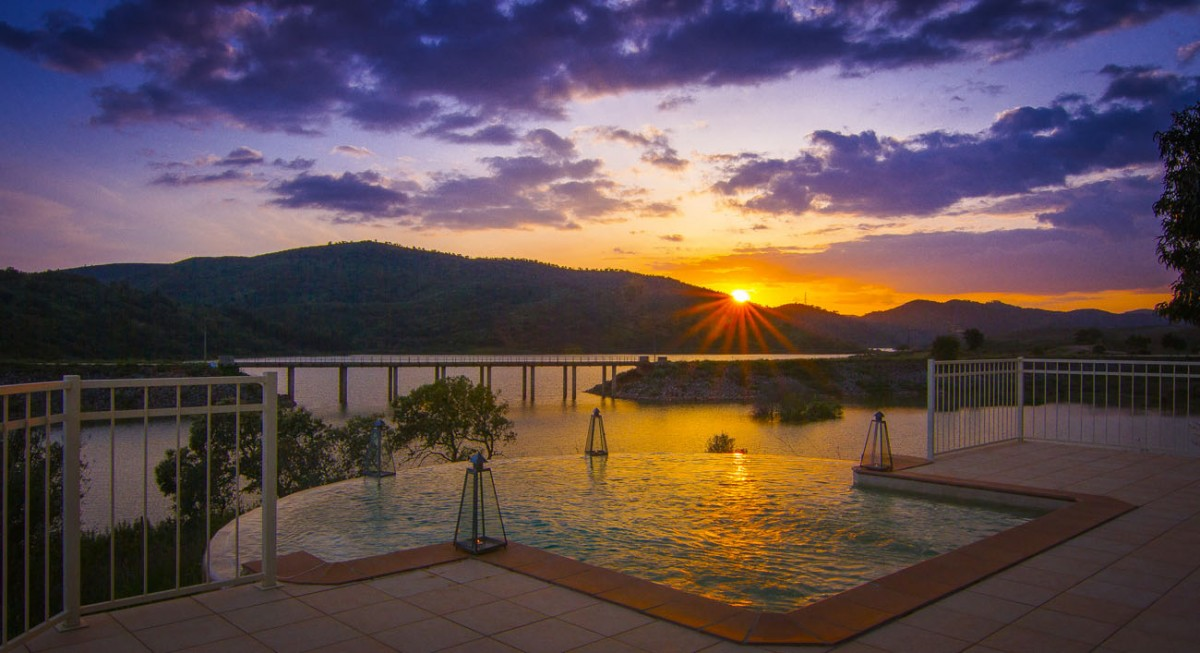 algarve sunset river house retreat location