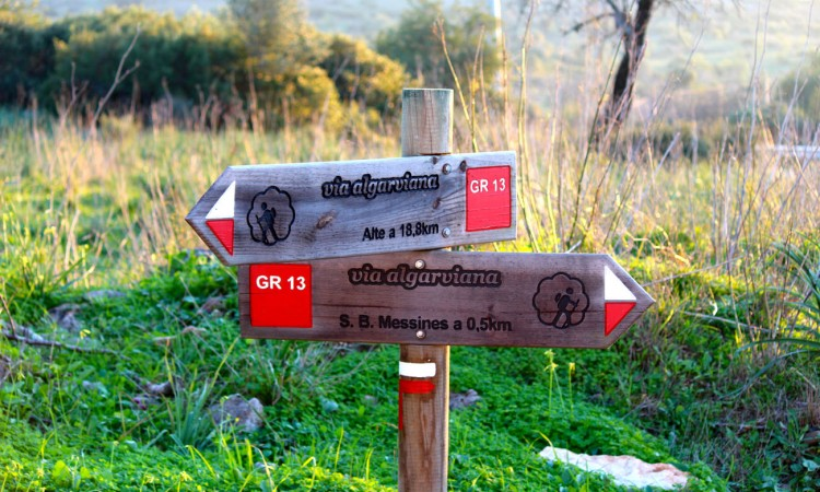 Walking in The Algarve | Road signs in the Algarve