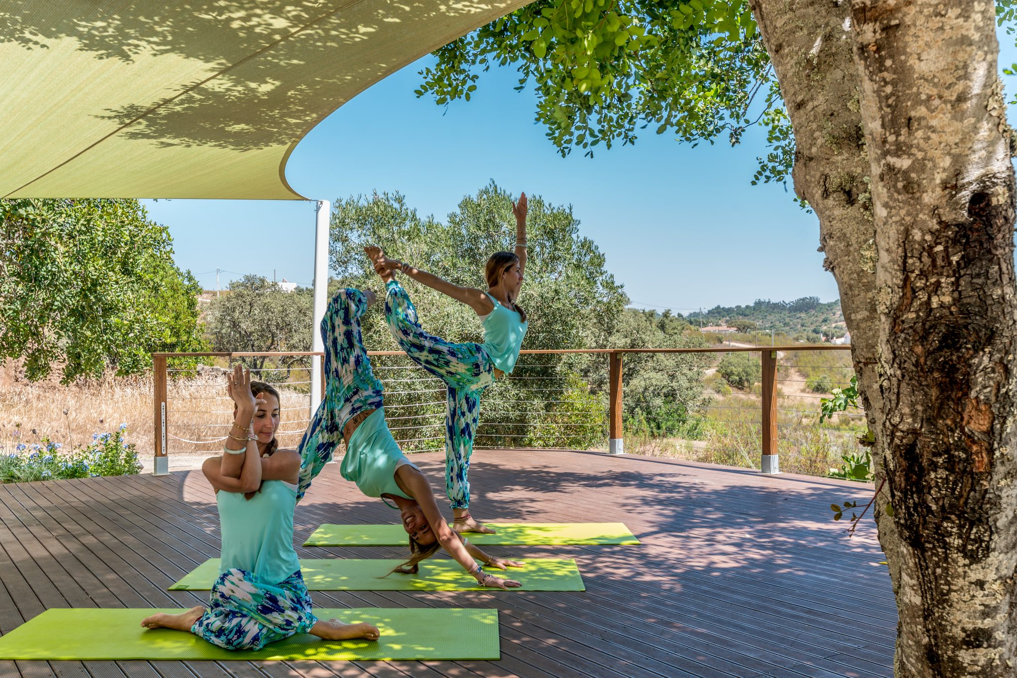 vinyasa yoga retreat