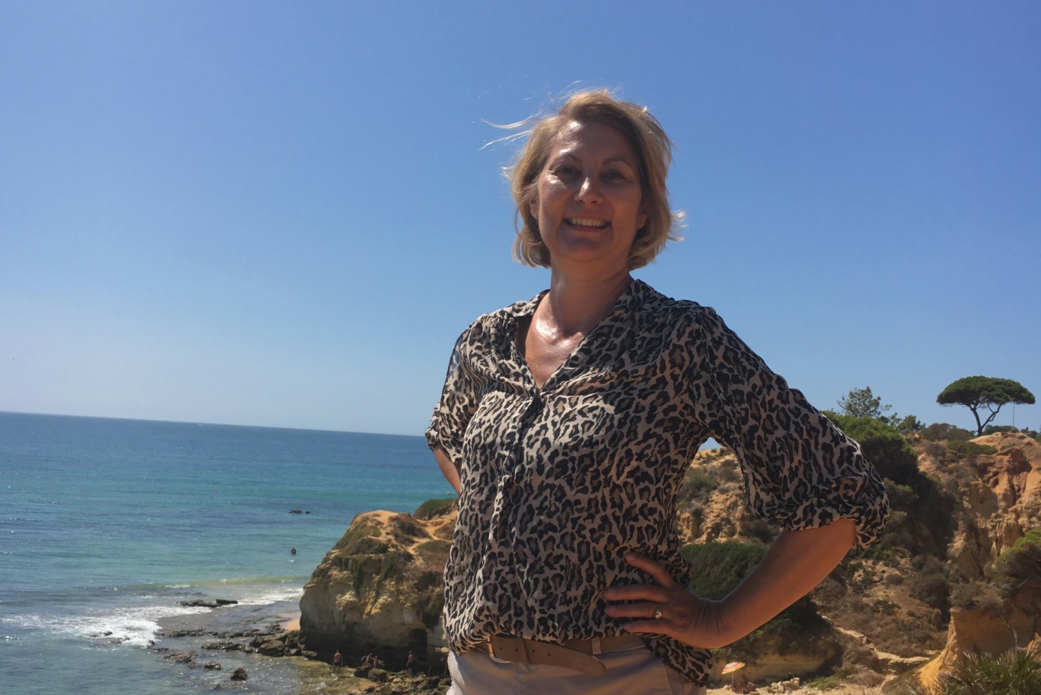 Cheryl Algarve Cliffs