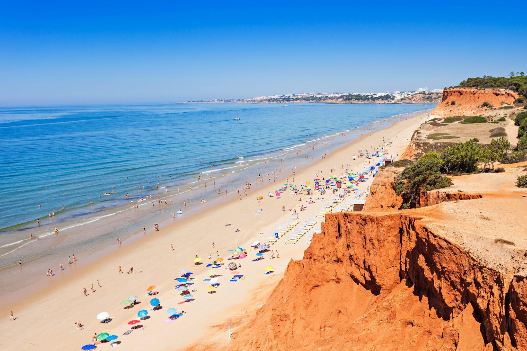 5 miles of beach sand