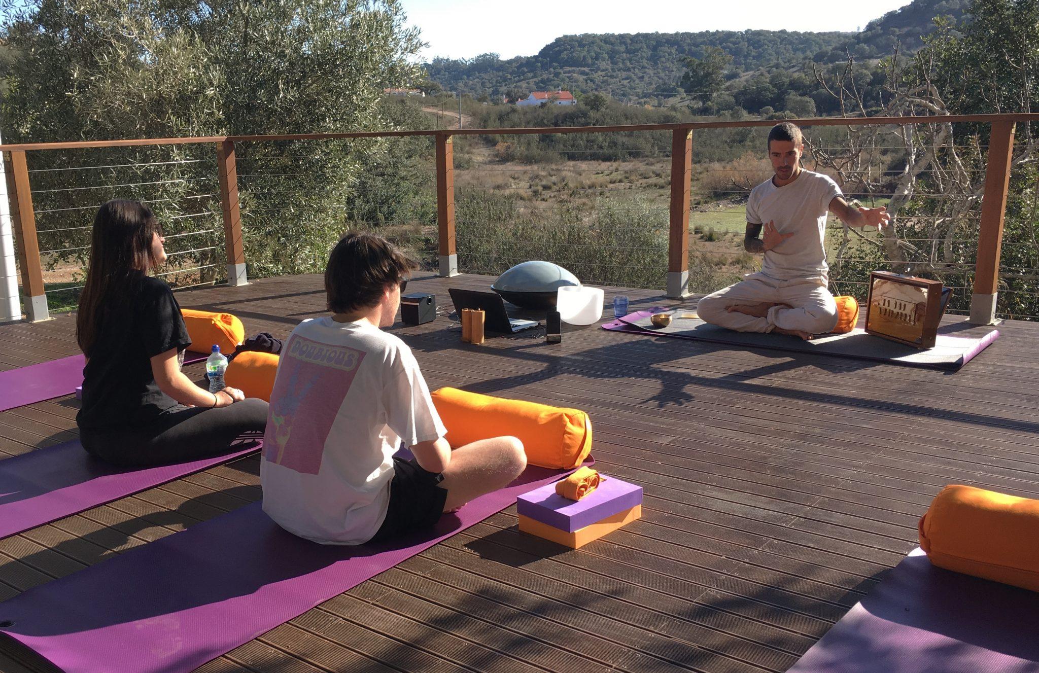 yoga retreat equipment