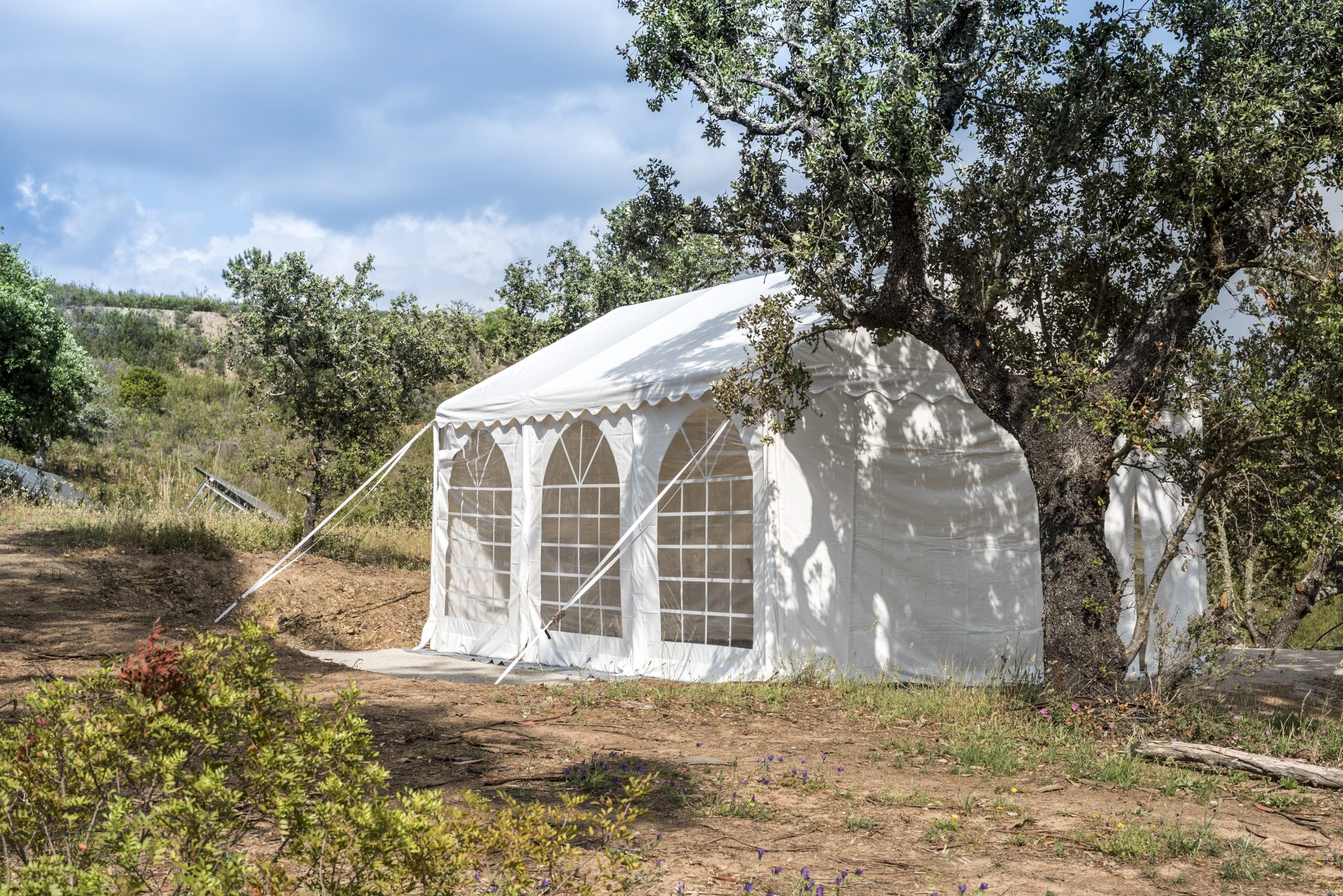 retreat location marque with river views