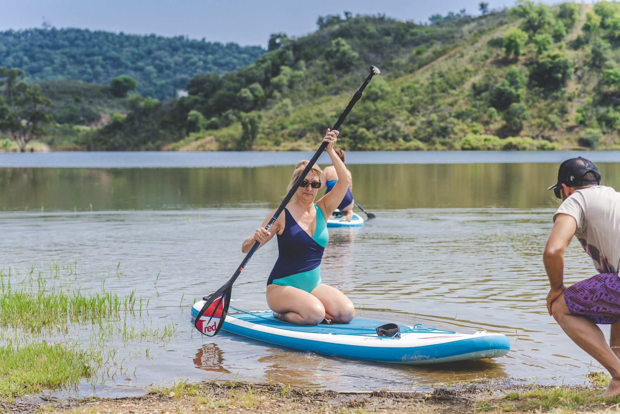 stand up paddle portugal retreat